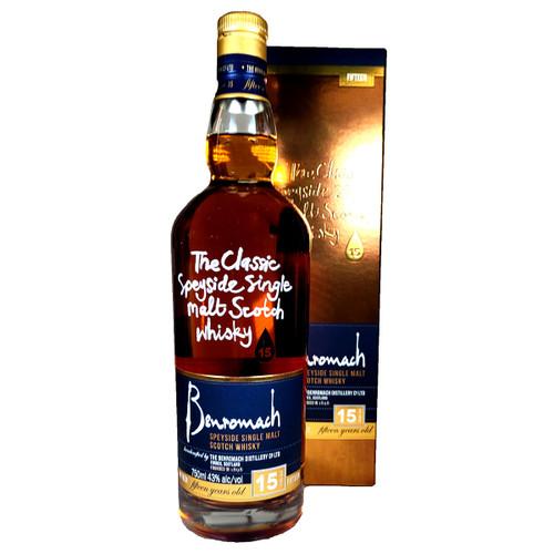 Benromach 15 Year Old Speyside Single Malt Scotch Whisky