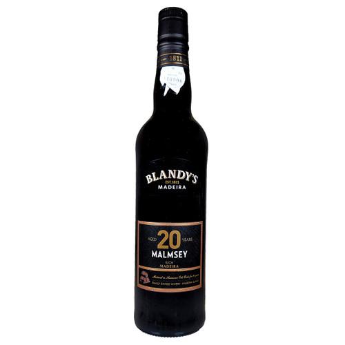 Blandy's 20 Years Malmsey Rich Madeira, 500ml