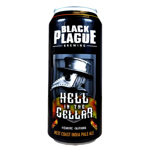Black Plague Hell In The Cellar West Coast IPA Can