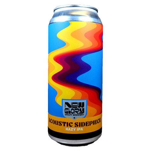 New Glory Acoustic Sidepiece Hazy IPA Can