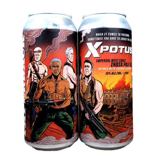 Paperback X Potus Imperial West Coast IPA Can