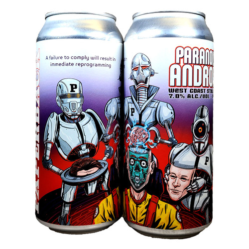 Paperback Paranoid Android West Coast Style IPA Can