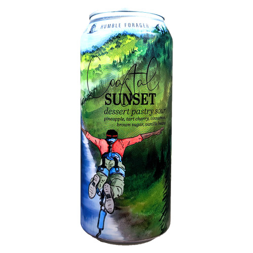 Humble Forager Coastal Sunset Dessert Pastry Sour Version 4 Can