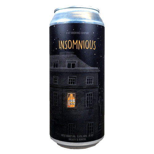 8 Bit Insomnious West Coast IPA Can