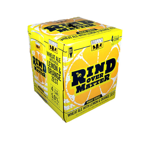 Bell's Rind Over Matter Wheat Ale 4-Pack Can
