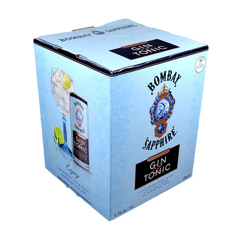 Bombay Gin & Tonic Ready-To-Drink 4-Pack Can