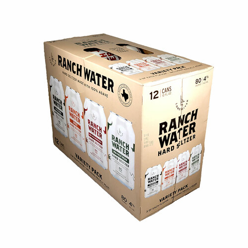 Lone River Ranch Water Variety Pack 12-Pack Can