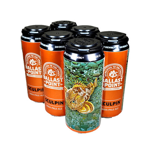 Ballast Point Sculpin IPA 6-Pack 16oz Can