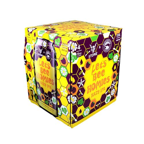 Stone / Deschutes Let's Bee Homies Hazy IPA 4-Pack Can