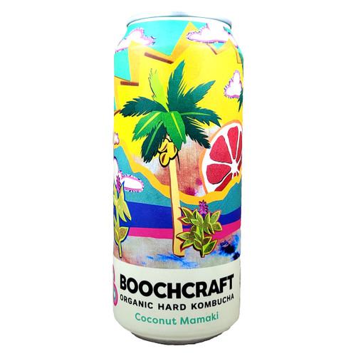 Boochcraft / Maui Brewing Liquid Art Coconut Mamaki Organic Hard Kombucha Can