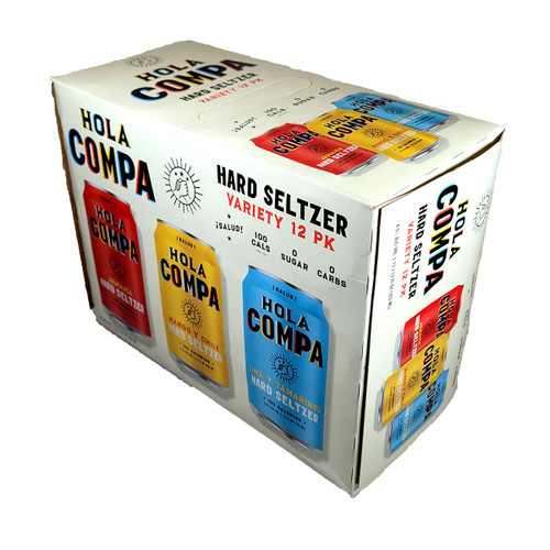St. Archer Hola Compa Hard Seltzer Variety 12-Pack Can