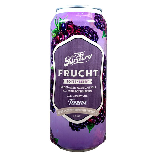 The Bruery Terreux Frucht Boysenberry Berliner Weissbier Can