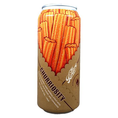 The Bruery / Horus Churriosity Bourbon Barrel-Aged Imperial Stout Can