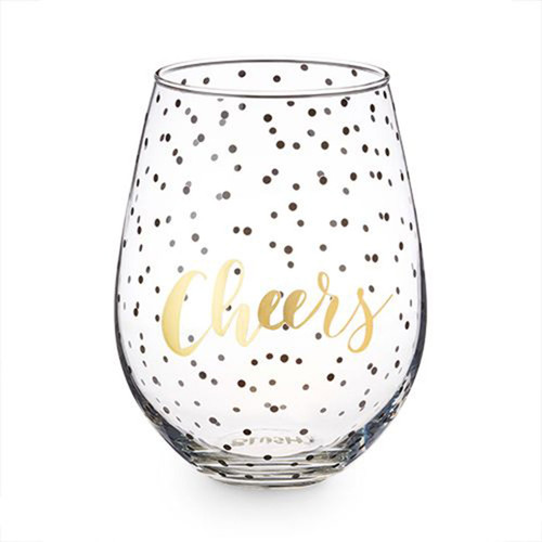 Cheers 30 Ounce Stemless Wine Glass By Blush