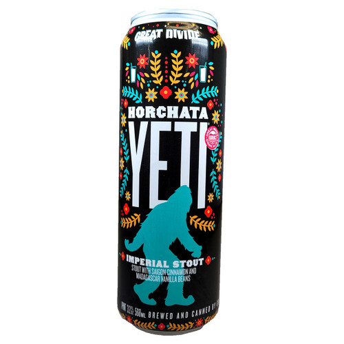 Great Divide Horchata Yeti Imperial Stout Can