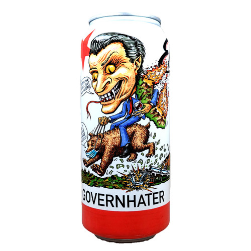 Evans Governhater Double Hazy IPA Can 16oz