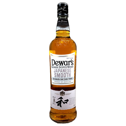 Dewar's Japanese Smooth 8 Year Old Blended Scotch Whisky