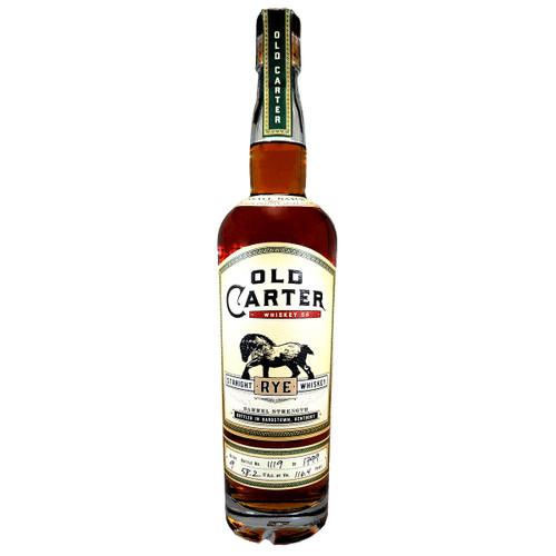 Old Carter Straight Rye Whiskey Batch #9