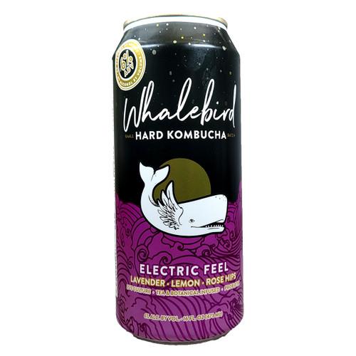 Whalebird Electric Feel Hard Kombucha Can 16oz