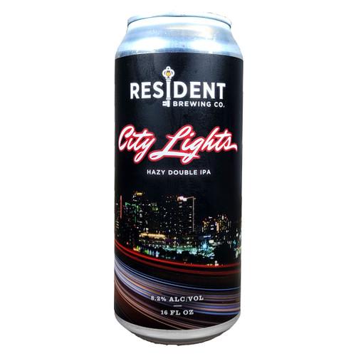 Resident City Lights Hazy Double IPA Can 16oz
