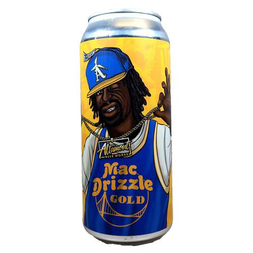 Altamont Mac Drizzle Golden Ale Can
