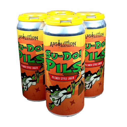 Absolution Su-Do! Pils 4-Pack Can