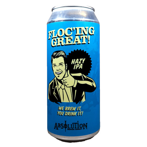 Absolution Floc'ing Great! Hazy IPA Can