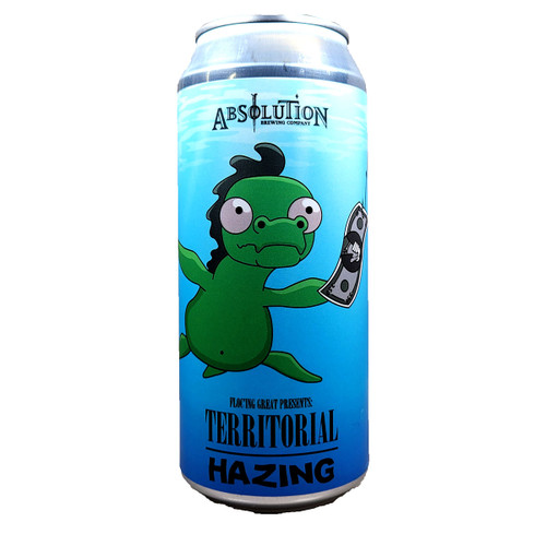 Absolution Floc'ing Great Presents Territorial Hazing IPA Can