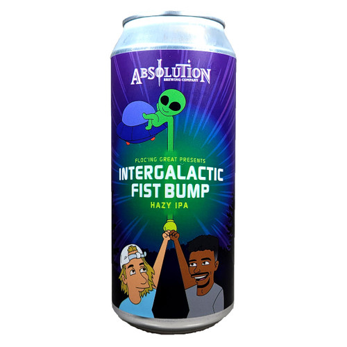 Absolution Floc'ing Great Presents Intergalactic Fist Bump Hazy IPA Can