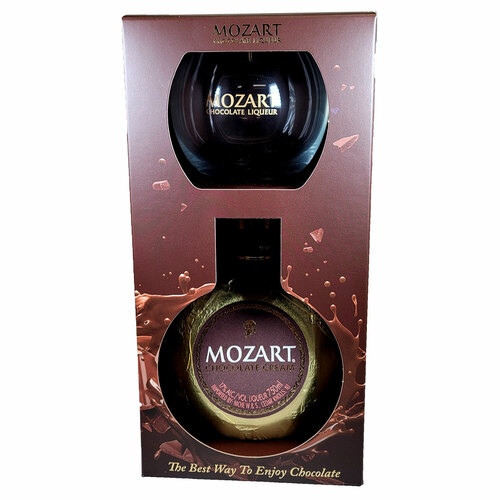 Mozart Chocolate Cream Liqueur Gift Pack With Tumbler