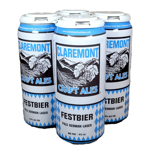 Claremont Festbier 4-Pack Can