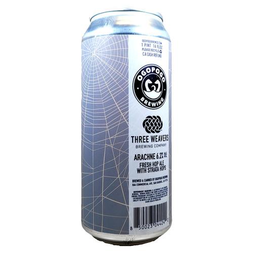 Ogopogo / Three Weavers Arachne Fresh Hop Ale Can