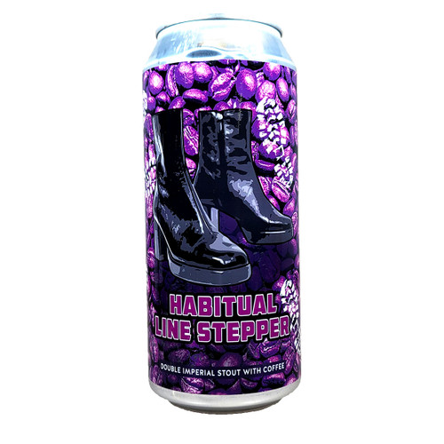 Weathered Souls Habitual Line Stepper Double Imperial Stout with Coffee Can