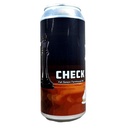 Weathered Souls Check Fall Saison Farmhouse Ale Can