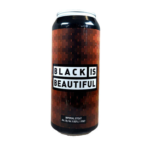 Weathered Souls Black Is Beautiful Imperial Stout Can
