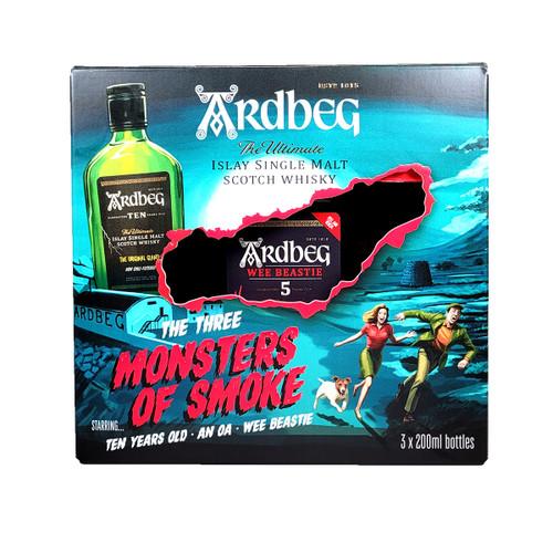 Ardbeg The 3 Monsters Of Smoke Combo 200ml
