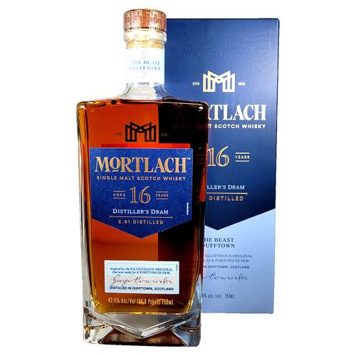 Mortlach Distiller's Dram 16 Year Single Malt Scotch Whisky