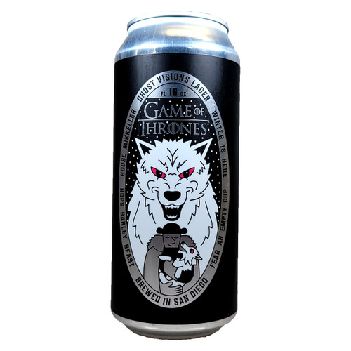Mikkeller SD Game Of Thrones Ghost Visions Lager Can