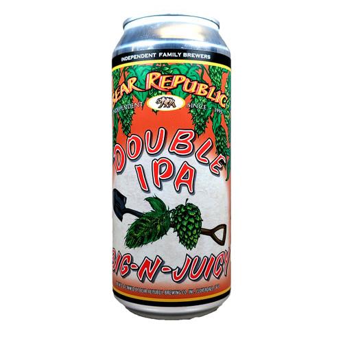 Bear Republic Hop Shovel Big-N-Juicy Double IPA Can