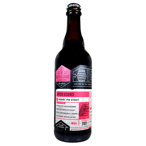 Bottle Logic Appied Science Barrel-Aged Imperial Berry Pie Stout