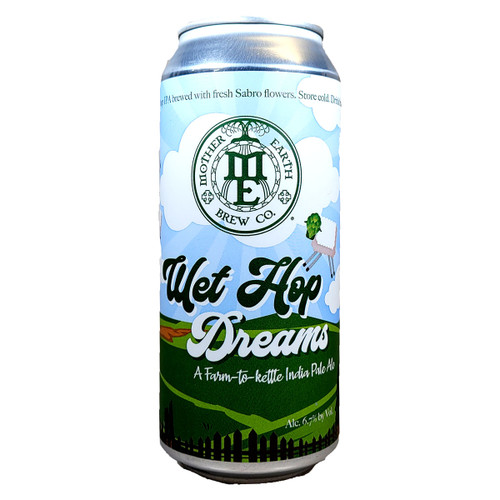 Mother Earth Wet Hop Dreams IPA Can