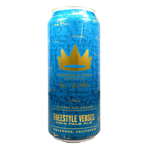 Crowns & Hops Freestyle Verses IPA Can