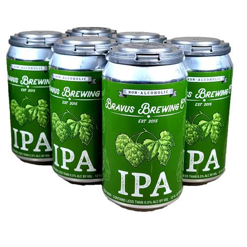 Bravus Non-Alcoholic IPA 6-Pack Can