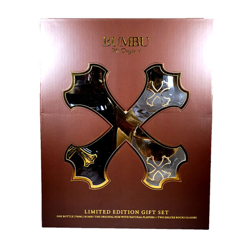Bumbu Rum Gift Pack With 2 Glasses