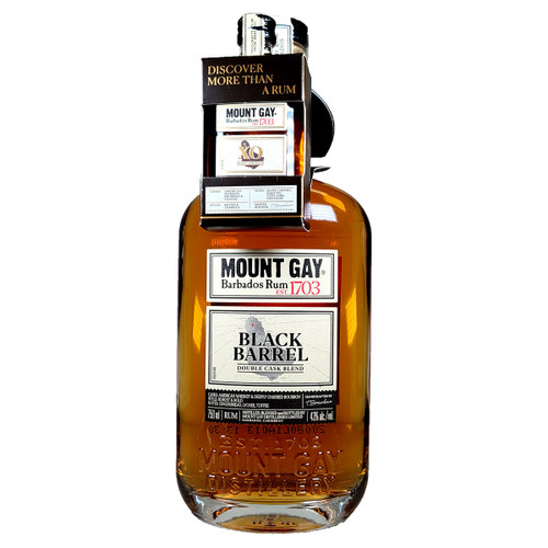 Mount Gay Black Barrel Rum Gift Pack With 1 50ml XO