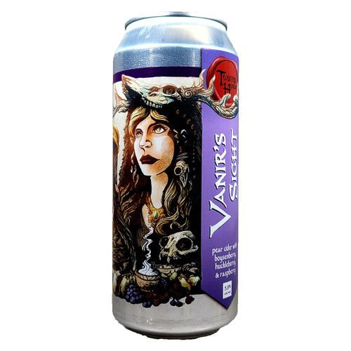 Twisted Horn Vanir's Sight Pear Cider Can
