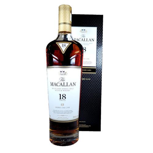 Macallan 18 Year Sherry Oak Scotch Whisky 2020