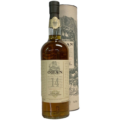 Oban 14 Year Highland Scotch Whisky