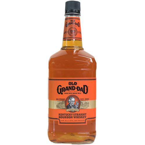 Old Grand Dad High Rye Bill Kentucky Straight Bourbon Whiskey 1.75L