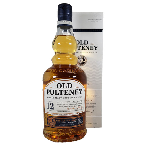 Old Pulteney 12 Year Single Malt Scotch